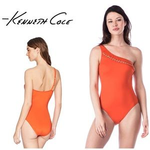 Kenneth Cole chain reaction swimsuit. NWT